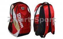 Рюкзак WILSON 6172 BACKPACK (PL, р-р 49х38х21см, красный, синий)