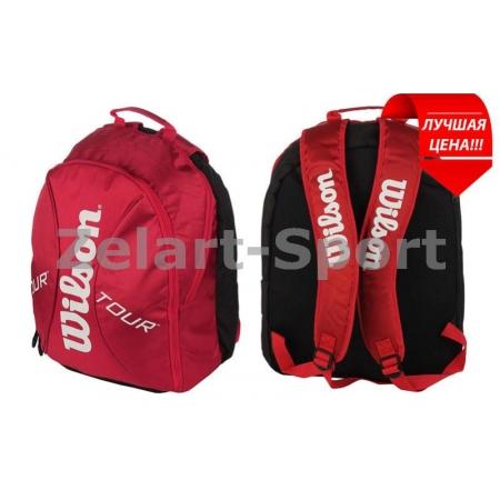 Рюкзак WILSON WRZ844295 TOUR (PL, р-р 44х33х24см, красный)