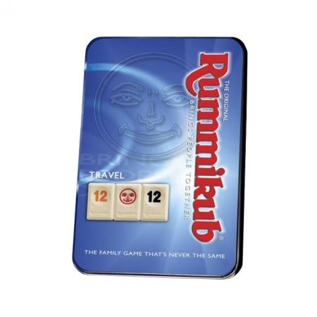 Rummikub дорожный (в металлической коробке) - Настольная игра KodKod