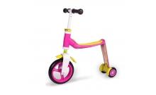 Самокат Scoot and Ride серии Highwaybaby+ розово-желтый, до 3 лет, до 20кг (SR-216272-PINK-YELLOW)
