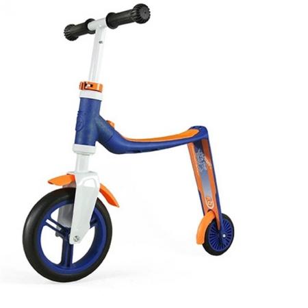Самокат Scoot and Ride серии Highwaybaby сине-оранжевый, до 3 лет, до 20кг (SR-216271-BLUE-ORANGE)