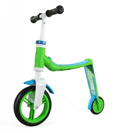 Самокат Scoot and Ride серии Highwaybaby зелено-синий, до 3 лет, до 20кг (SR-216271-GREEN-BLUE)