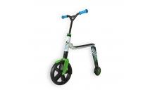 Самокат Scoot and Ride серии Highwaygangster бело-зелено-синий, от 5 лет, макс 100кг (SR-216265-WHITE-GREEN-BLUE)