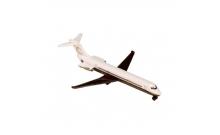 Самолет MD-80 Golden Jet, 13 см, Majorette, 205 3120-3