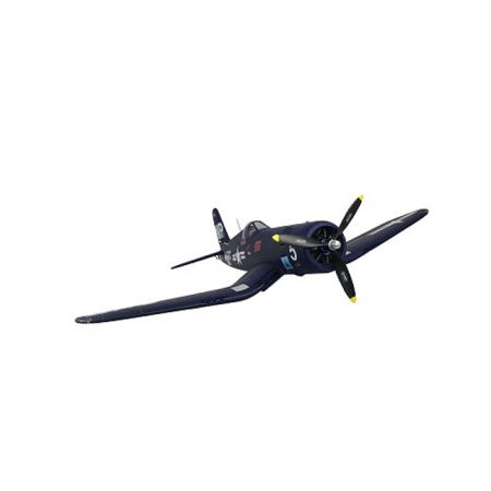 Самолет на радиоуправлении Dynam F4U RLG Brushless 1270 мм 2.4GHz RTF (DY8953 RTF)