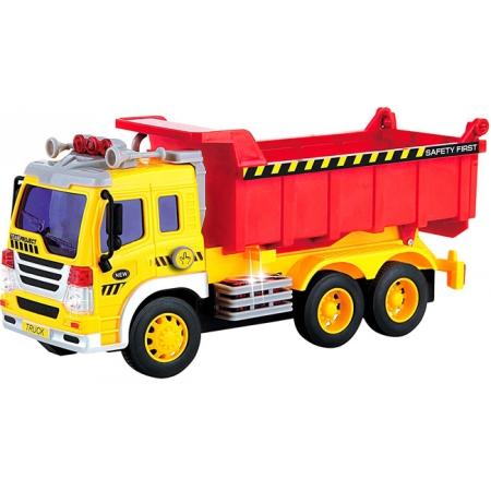 Самосвал со светом и звуком (28 см), Junior trucker, 33024