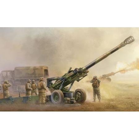 Сборная модель M198 Medium Towed Howitzer late, арт. 2319