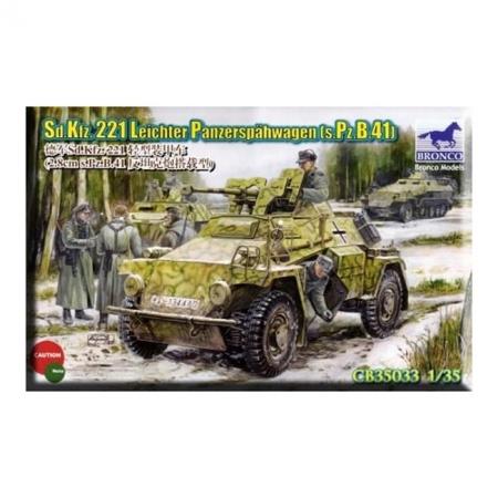 Сборная модель Sd.Kfz. 221 Leichter Panzerspahwagen (s.Pz.B.41), арт. CB35033