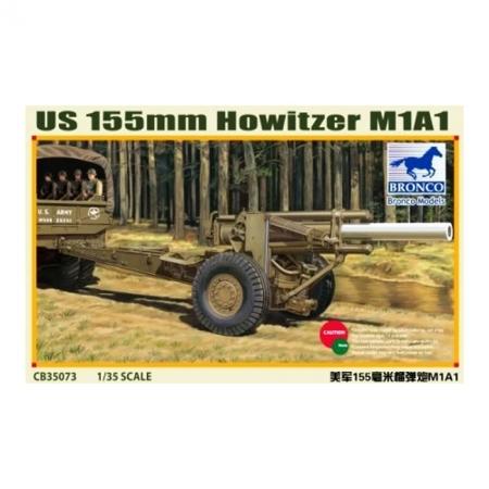 Сборная модель US 155mm Howitzer M1A1, арт. CB35073