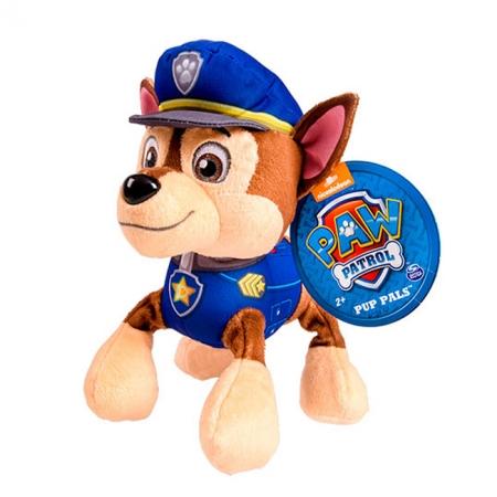 Щенячий патруль: мягкая игрушка Гонщик (20 см), Paw Patrol, Гонщик (синий), SM16604-1