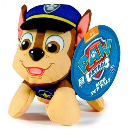 Щенячий патруль: мягкая игрушка Гонщик (7 см), Paw Patrol, Гонщик (синий), SM16635-1