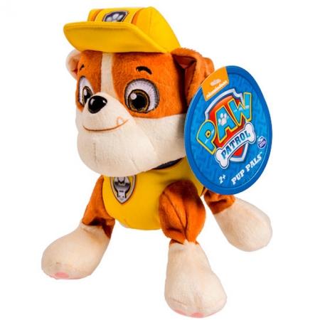 Щенячий патруль: мягкая игрушка Крепыш (20 см), Paw Patrol, Крепыш (желтый), SM16604-3
