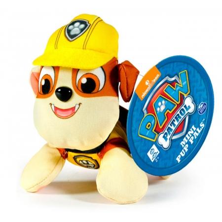 Щенячий патруль: мягкая игрушка Крепыш (7 см), Paw Patrol, Крепыш (желтый), SM16635-3