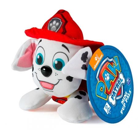 Щенячий патруль: мягкая игрушка Маршалл (7 см), Paw Patrol, Маршалл (красный), SM16635-4