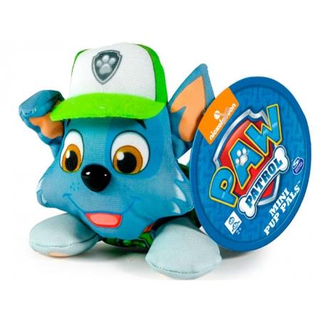 Щенячий патруль: мягкая игрушка Рокки (7 см), Paw Patrol, Рокки (салатовый), SM16635-5