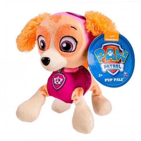Щенячий патруль: мягкая игрушка Скай (20 см), Paw Patrol, Скай (розовый), SM16604-6