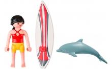 Серфингист с доской (5372), Playmobil, 5372