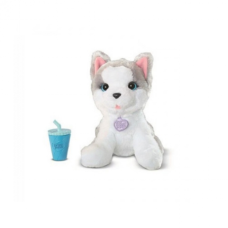 Серый щенок, интерактивная игрушка Забавные животные, Furreal Friends, серый щенок, A9084-1