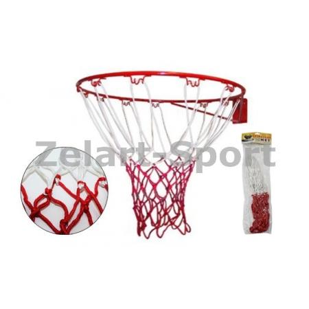 Сетка баскетбольная C-4561 (полипропилен,13 петель, яч. р-р 6x6см, в компл.2шт)