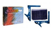 Сетка для настольного тенниса с клипсовым креплением DHS MT-P106 (металл, NY, цвет. карт. коробка)