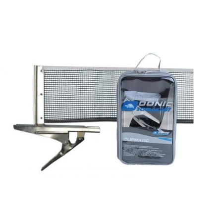 Сетка для настольного тенниса с клипсовым креплением DONIC MT-808335 (металл, NY, PVC чехол)