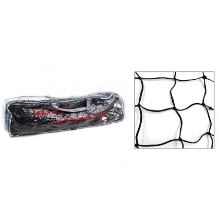 Сетка для волейбола C-4890 (PP, р-р 9,5x1м, ячейка 11x11см, с метал. тросом)