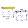 Сетка для волейбола Премиум UR SO-5267 (PP 2,5мм, р-р 9x0,9м, ячейка 12x12см, шнур натяж.)
