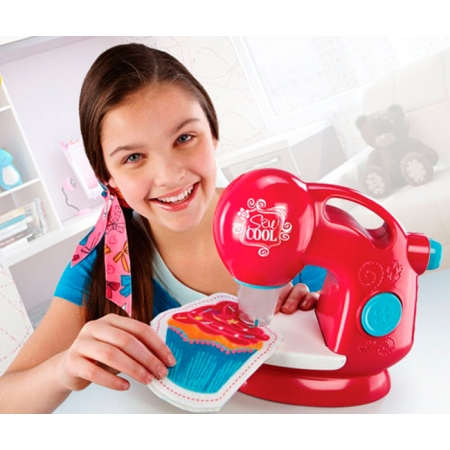 Sew cool - набор со швейной машинкою Швейная мастерская, Spin Master (SM56000)