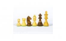 Шахматные фигуры деревянные Стаунтон №4, Индия