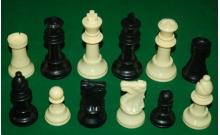 Шахматные фигуры Гигант, пластик, король - 105 мм