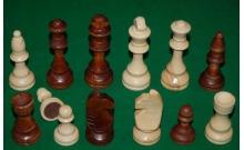 Шахматные фигуры из дерева, король - 105 мм