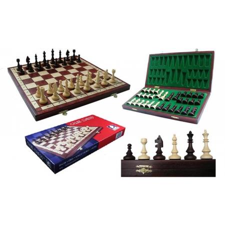 Шахматы CLUB-38, 38 см, Gniadek 1048