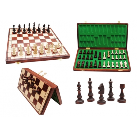 Шахматы CLUB-38 магнитные, 38 см, Gniadek 1049 Gniadek