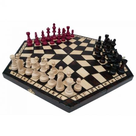 Шахматы для троих, большие. Madon troiki 162 Madon