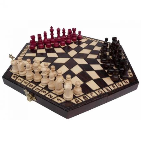 Шахматы для троих, малые. Madon troiki, 32 см, 3164