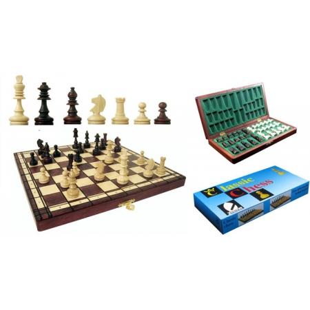 Шахматы классические, 28 см, Gniadek 1027