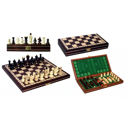 Шахматы королевские, 32 см, Gniadek 1019