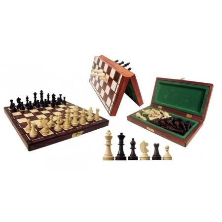 Шахматы магнитные большие, 28 см, Gniadek 1033