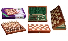 Шахматы магнитные Intarsia, 27 см, Wegiel 2038