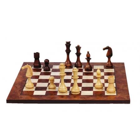 Шахматы Nigri Scacchi Классика - красные, 48 x 48 см (полистоун, кожа)   S16+CD51