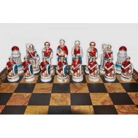 Шахматы Nigri Scacchi Клеопатра, 35 x 35 см (полистоун, дерево) | SP90+CD52G