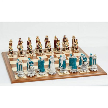 Шахматы Nigri Scacchi Людовик XIV, 60 x 60 см (полистоун, дерево)   SP37+DA75G