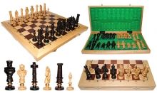 Шахматы ROYAL-62 Intarsia, 62 см, светлыйдуб, Madon 310405