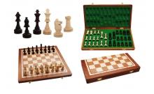 Шахматы Турнирные №4 Intarsia, 41 см, коричневые, Gniadek 1054