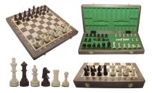 Шахматы Турнирные №4 Intarsia, 40 см, орех, Madon 309715