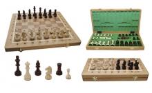 Шахматы Турнирные №4 Intarsia, 40 см, светлыйдуб, Madon 309705