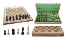 Шахматы Турнирные №5 Intarsia, 48 см, светлыйдуб, Madon 309805