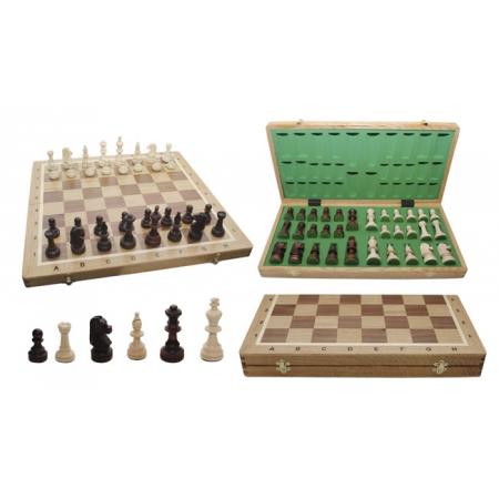 Шахматы Турнирные №5 Intarsia, 48 см, светлыйдуб, Madon 309805 Madon
