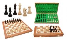 Шахматы Турнирные №5 Intarsia, 51 см, коричневые, Gniadek 1055