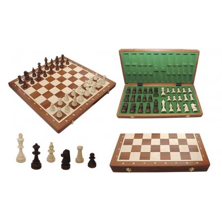 Шахматы Турнирные №6 Intarsia, 52 см, махагон, Madon 309904 Madon